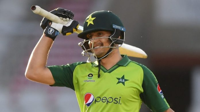 Haider becomes first Pakistan to score half century on T20I debut