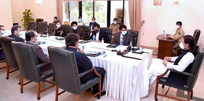ISLAMABAD: October 09 – Prime Minister Imran Khan chairs a meeting on promotion of ICT sector. APP