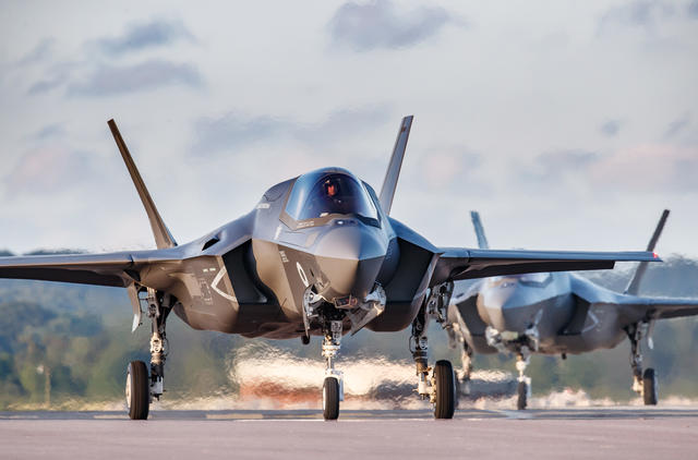 Democratic senators introduce bill to constrain sale of top US fighter jets - F-35s - to UAE