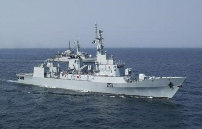 Pakistan Navy Ship ZULFIQUAR visits port of Aqaba, Jordan