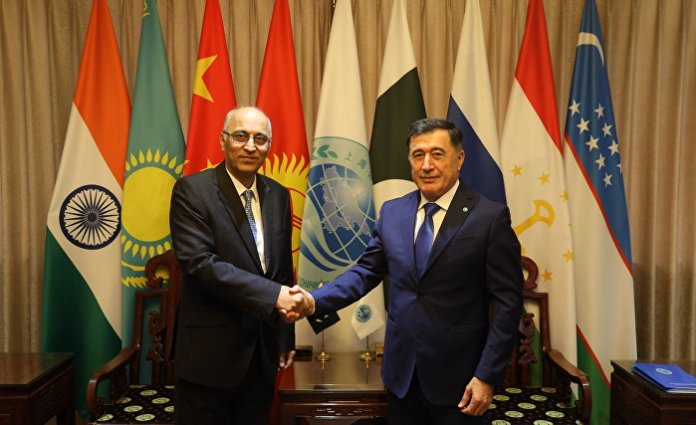 Norov meets Ambassador Haque, notes Pakistan's contribution to strengthen SCO