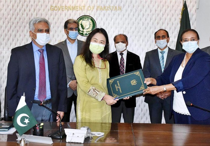 ISLAMABAD: November 03 – The signing ceremony of grant agreement from ADB-Apdrf for