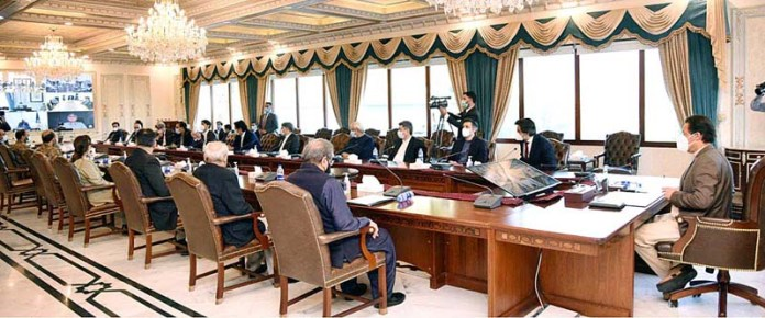 Prime Minister Imran Khan chairs meeting of National Coordination Committee on COVID-19