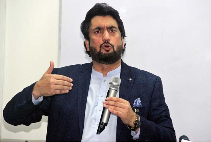 Shehryar Afridi urges UN to put sanctions on Modi regime for demographic terrorism in IIOJK
