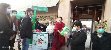 DG ICT distributes mask under COVID-19 awareness drive