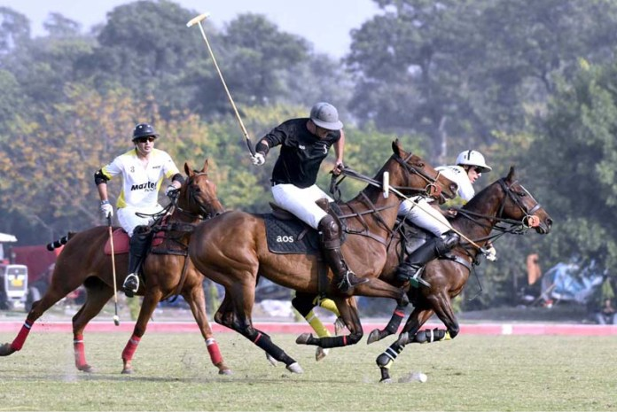 Hamadan Polo Cup for Lahore Open Polo Championship: Finalists decided