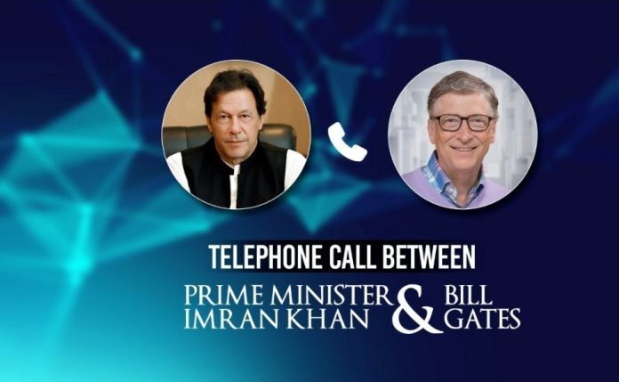 PM, Bill Gates discuss COVID-19 situation, polio eradication efforts