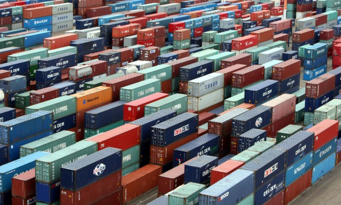 Containers at Karachi Port - File Photo