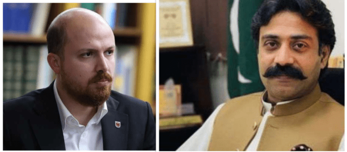 Punjab Sports Minister meets Bilal Erdogan, the son of Turkish President Tayyip Erdogan