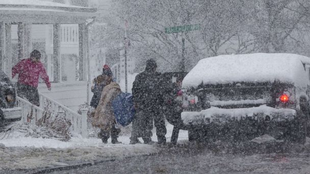 Three people killed as major snowstorm hits America's East Coast