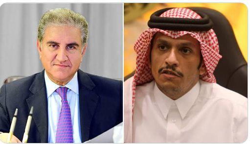 FM hols telephonic conversation with Qatari counterpart