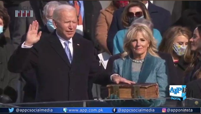Joe Biden takes oath as 46th President of the United States of America