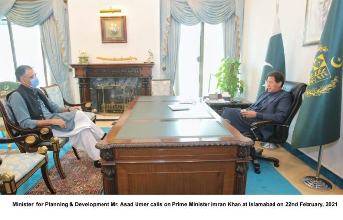 PM briefed on progress of federal govt's ongoing development projects in Sindh