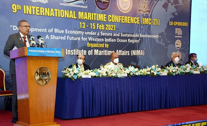 Pakistan's blue economy strategy to ensure responsible use of ocean resources: President