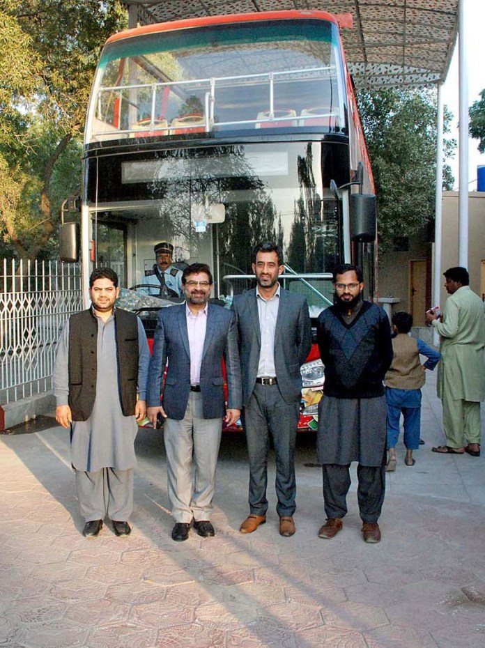Fist ever start of double decker bus of TDCP in Bahawalpur city that will charge Rs 300 per ride