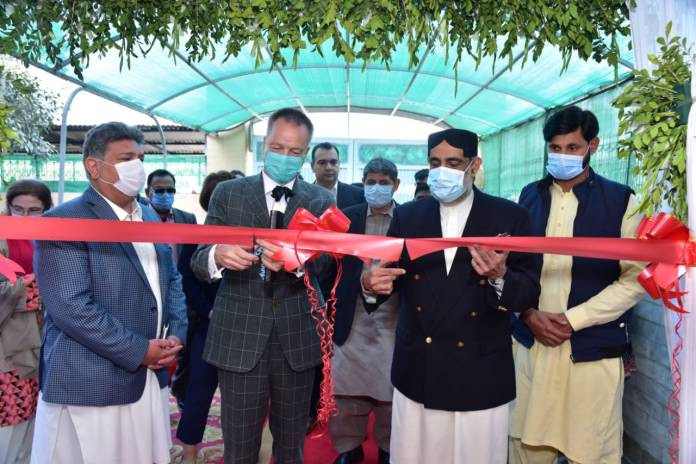 Pakistan and Germany on Monday joined hands to facilitate over 30,000 Afghan refugees and their hosts with integrated services, including health, education, skills training, legal support, and recreational activities through an 'Urban Cohesion Hub'.