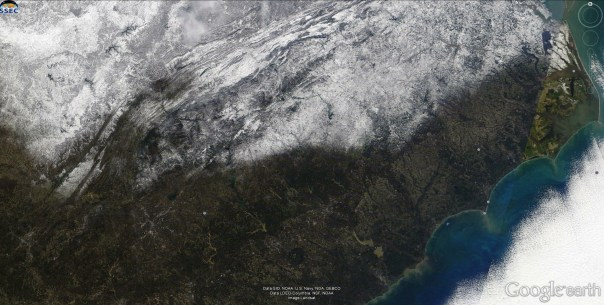 January 24 - NASA Landsat Visible Image