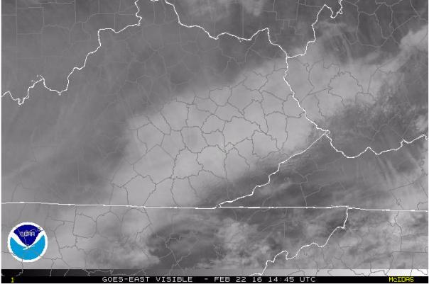 NASA Visible Image At 9:45 AM