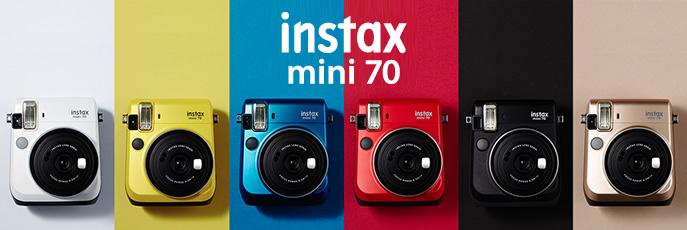 instax mini 70 couleurs
