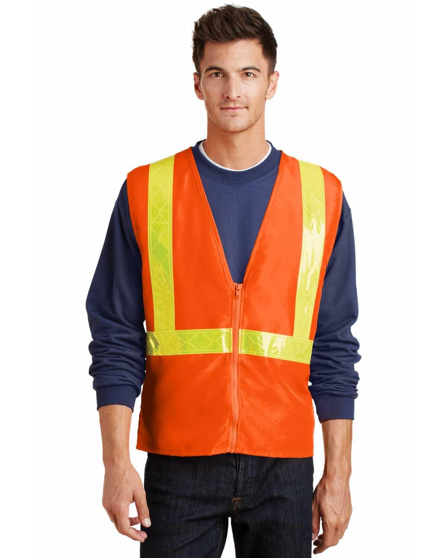 Port Authority SV01 Enhanced Visibility Vest on discount   ApparelChoice.com