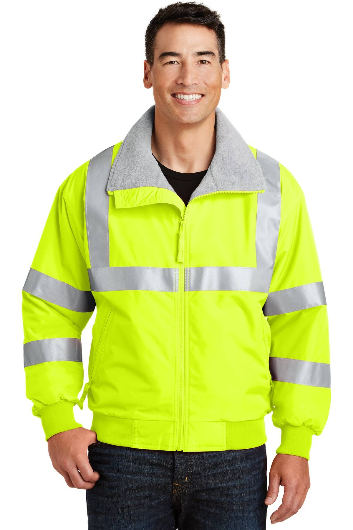 Port Authority SRJ754 Enhanced Visibility Challenger Jacket with Reflective Taping
