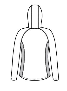 Eddie Bauer Ladies Sport Hooded Full-Zip Fleece Jacket