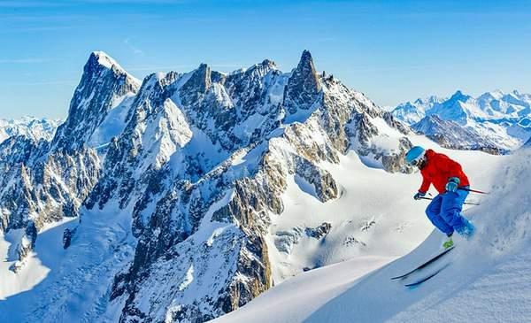 Ski de la Vallée Blanche à Chamonix
