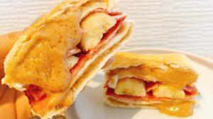 ランチパックピーナッツ×ベーコン×バナナ!? 甘じょっぱさがクセになる「エルビスサンド」作ってみた♪ #アレンジレシピ