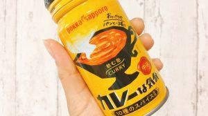 【実食】小腹がすいたらカレーをゴクリ!? おにぎりやパンのお供にぴったりな「飲む缶カレー」爆誕!! #カレーな気分中辛