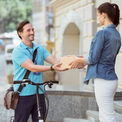 on demand courier delivery app