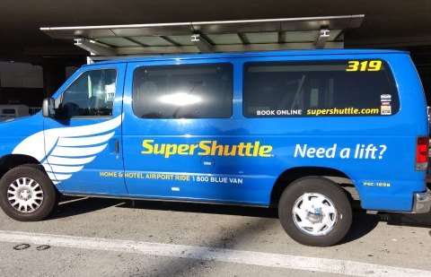 SuperShuttle airport ride services