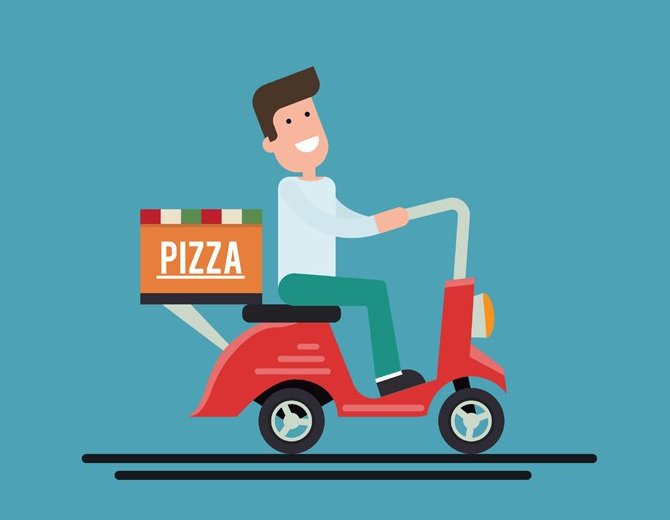 uber for pizza delivery