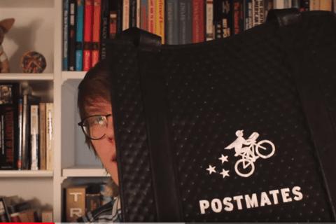 postmates driver app video