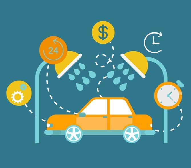 on demand car wash business
