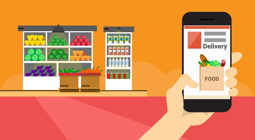 Complete Working Scenario Of Grocery App