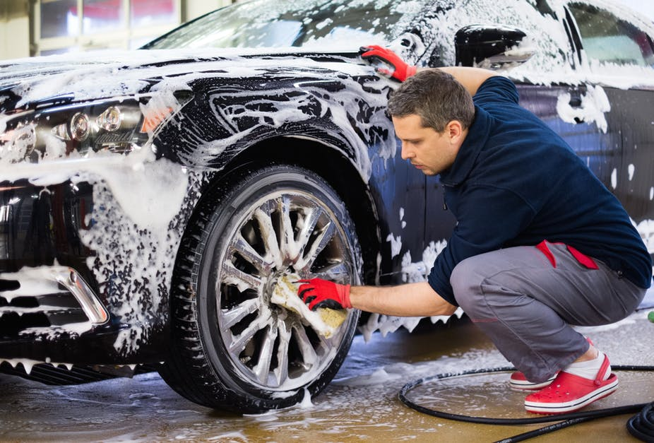 A bubbling good deal with mobile car wash app