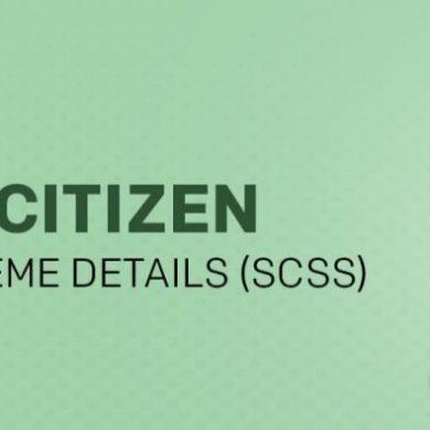 Senior Citizen Savings schemes