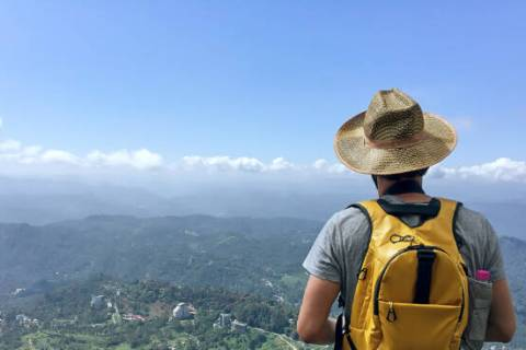 Trekking in God's Own Country