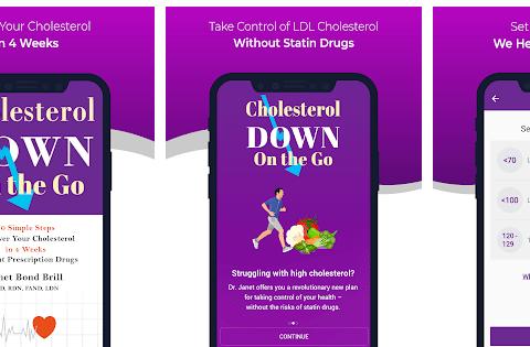 Keep Bad Cholesterol Away app