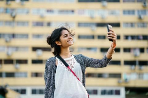 Selfie Camera Smartphone