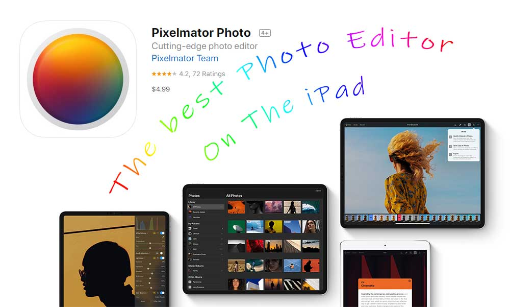 Pixelmator Photo Review- The Best Photo Editor For iPad