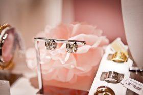 wood inlay wedding ring