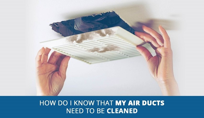 air heating ducts cleaned