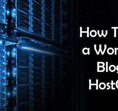 hostgator wordpress blog