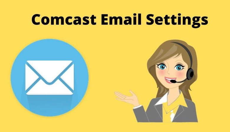Comcast email settings