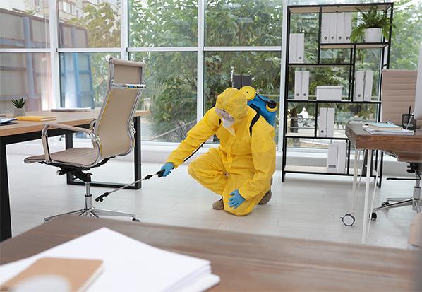 on demand sanitizing business solution