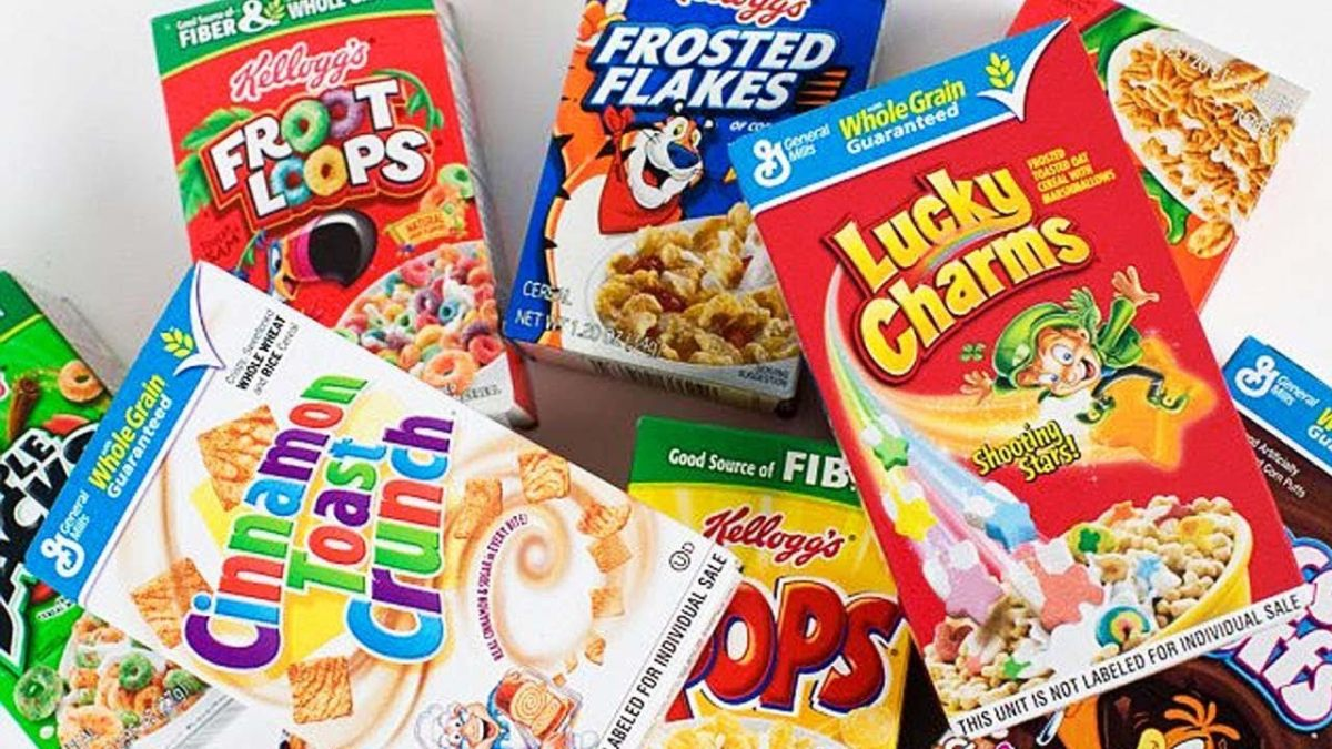 How Customized Cereal Boxes Force the Customer to Buy it.