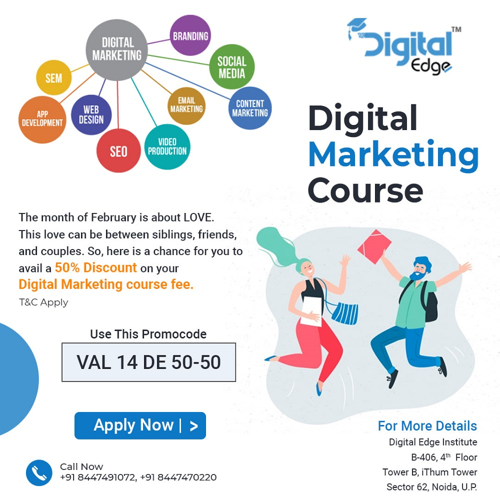 The most effective method to Choose Right Digital Marketing Institute in Noida