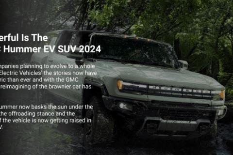 GMC Hummer EV SUV 2024