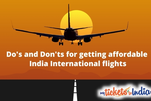 India international flights
